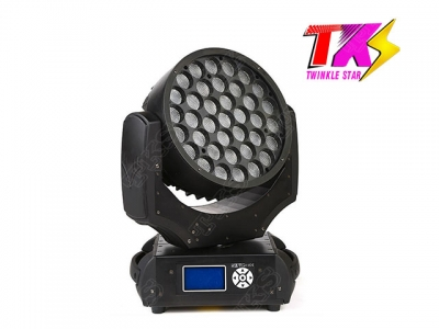 37*10W 4 in 1 LED Moving Head Zoom