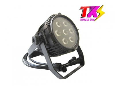 Mini 7*10w 4 in1 led waterproof par